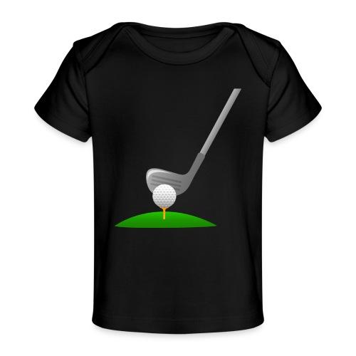 Golf Ball PNG - Camiseta orgánica para bebé