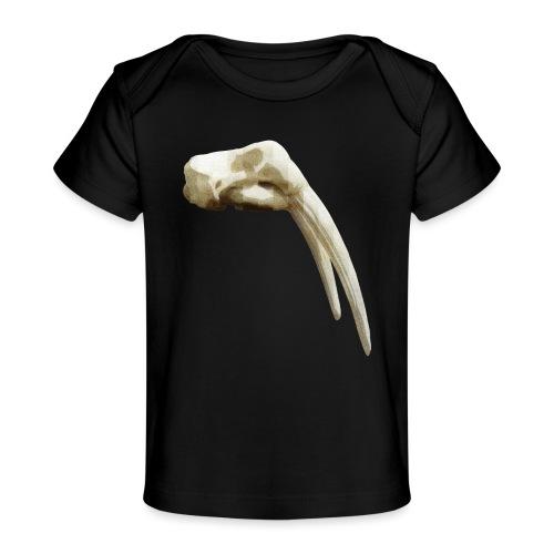 Schedel van een walrus - Baby bio-T-shirt