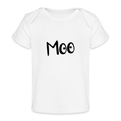 bubble moo black design - Organic Baby T-Shirt
