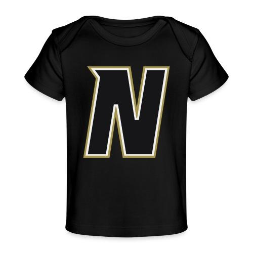 Nordic Steel Black N - Organic Baby T-Shirt