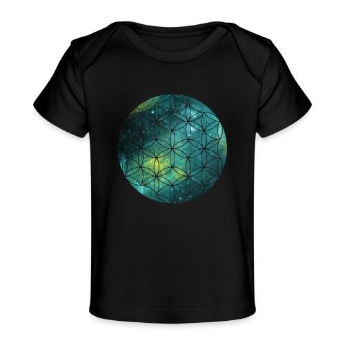 FlowerOfLife Cool - Baby bio-T-shirt