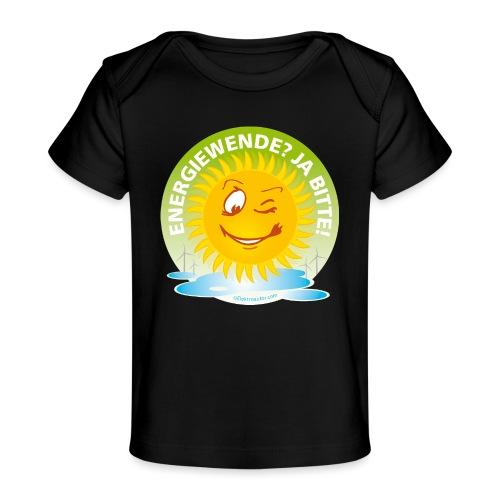 Energiewende Ja bitte - Baby Bio-T-Shirt