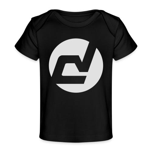 logo blanc - T-shirt bio Bébé