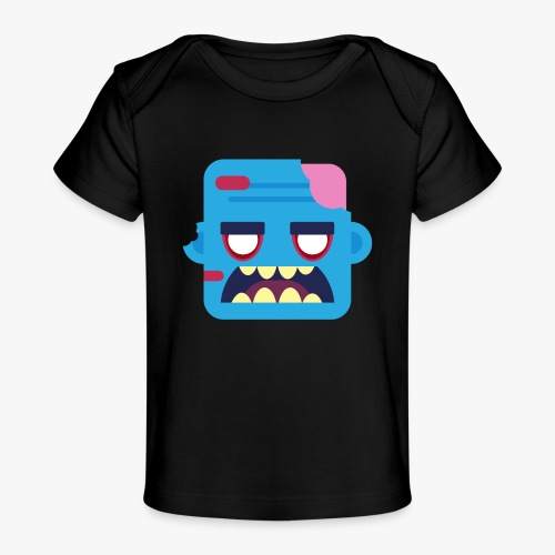 Mini Monsters - Zombob - Økologisk T-shirt til baby