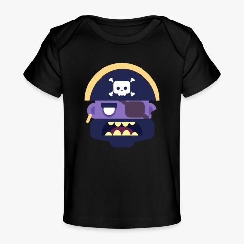 Mini Monsters - Captain Zed - Økologisk T-shirt til baby