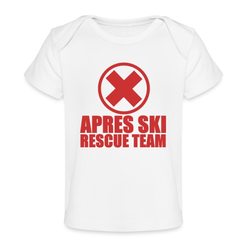 apres-ski rescue team - Baby bio-T-shirt