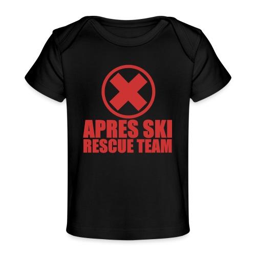apres-ski rescue team - Baby bio-T-shirt