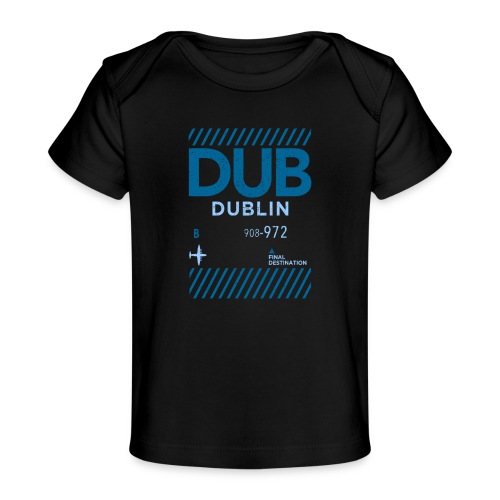 Dublin Ireland Travel - Organic Baby T-Shirt