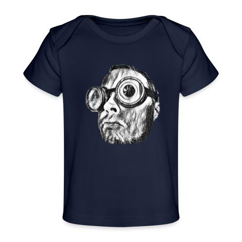 Face Tegner 2 - Økologisk T-shirt til baby