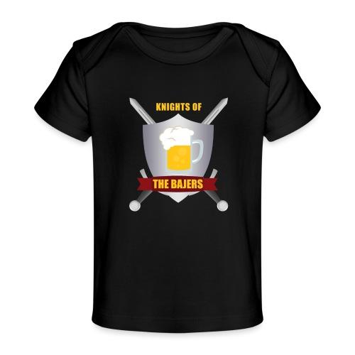 Knights of The Bajers - Økologisk T-shirt til baby