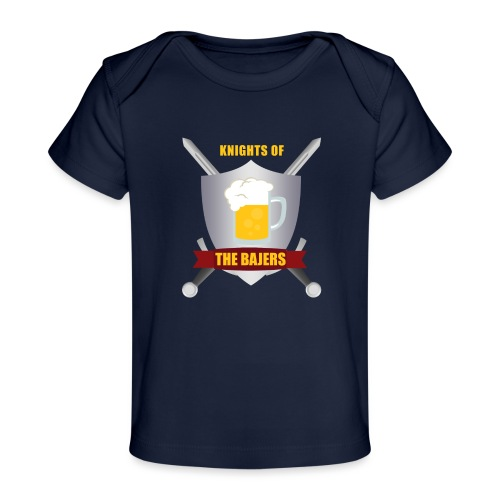 Knights of The Bajers - Økologisk T-shirt til baby