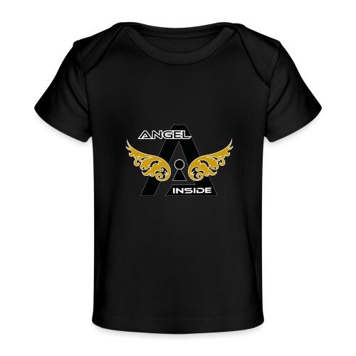 ANGEL INSIDE2-01 - Maglietta ecologica per neonato