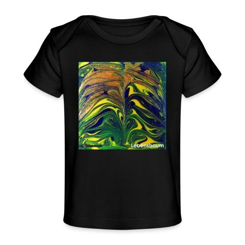 TIAN GREEN Mosaik DE029 - Lebensbaum - Baby Bio-T-Shirt