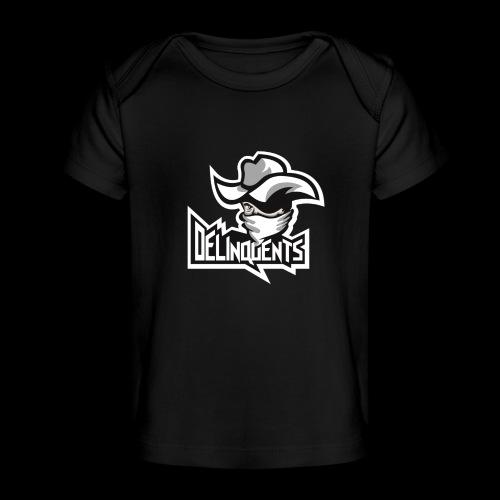 Delinquents TriColor - Økologisk T-shirt til baby
