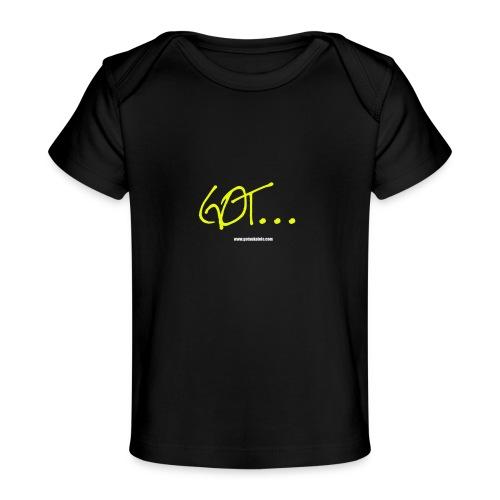 GOT LARGE LOGO - Organic Baby T-Shirt