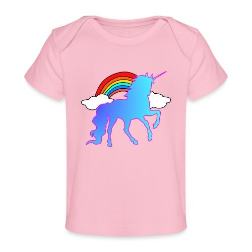 Einhorn Design - Baby Bio-T-Shirt