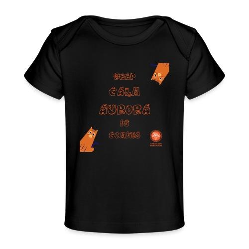 Duna Keep Calm - Økologisk baby-T-skjorte