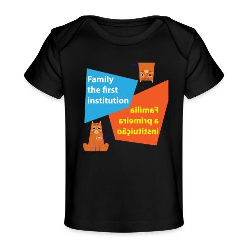 Duna Família - Økologisk baby-T-skjorte