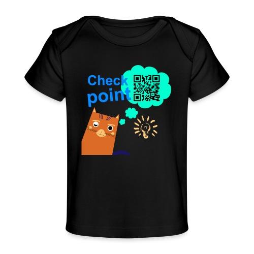 Duna Checkpoint - Økologisk baby-T-skjorte
