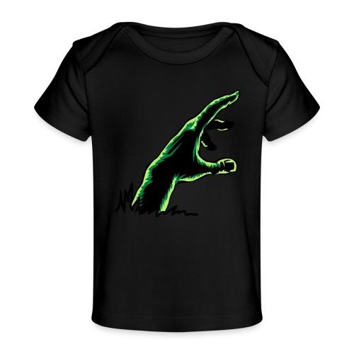 main_zombie - T-shirt bio Bébé