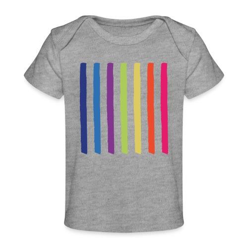 Linjer - Økologisk T-shirt til baby