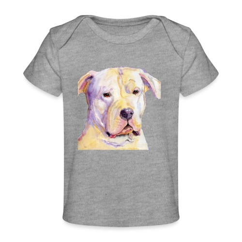 dogo argentino - Økologisk T-shirt til baby
