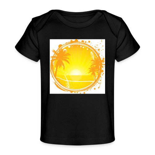 Sunburn - Organic Baby T-Shirt