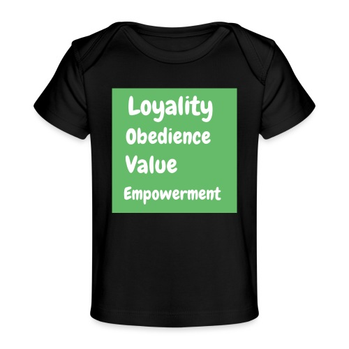 loyality - Ekologisk T-shirt baby