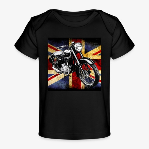 BSA motor cycle vintage by patjila 2020 4 - Organic Baby T-Shirt