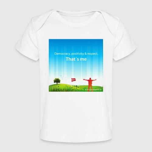 Rolling hills tshirt - Økologisk T-shirt til baby
