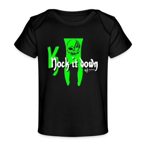 Nock it down - Baby Bio-T-Shirt