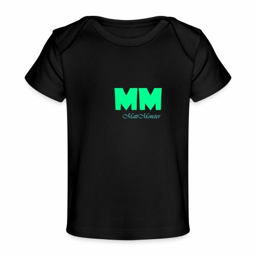 MattMonster Signature logo - Organic Baby T-Shirt