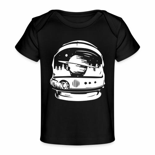 Woodspace Astronaut - Ekologiczna koszulka dla niemowląt