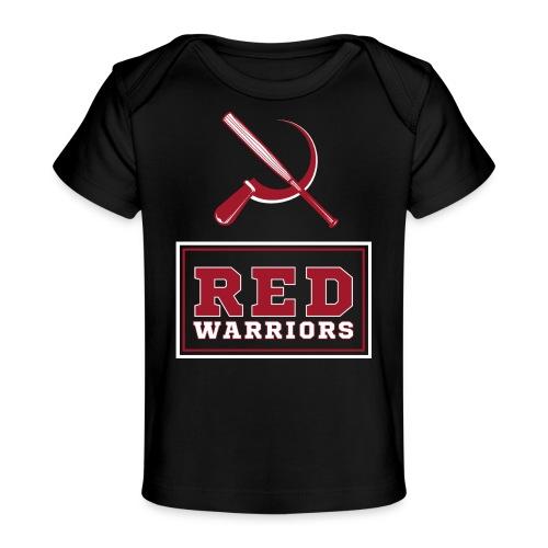 Red Warriors Logo2 - T-shirt bio Bébé
