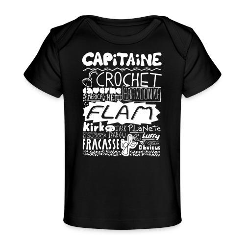 capitaine-blanc Tee shirts - T-shirt bio Bébé