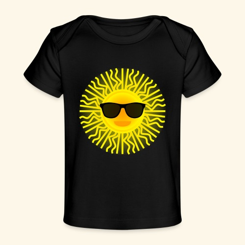 Sol de Canarias - Camiseta orgánica para bebé