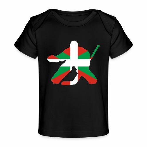 goalie et basque - T-shirt bio Bébé
