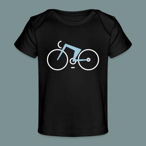 Bikes against cancer - Økologisk T-shirt til baby