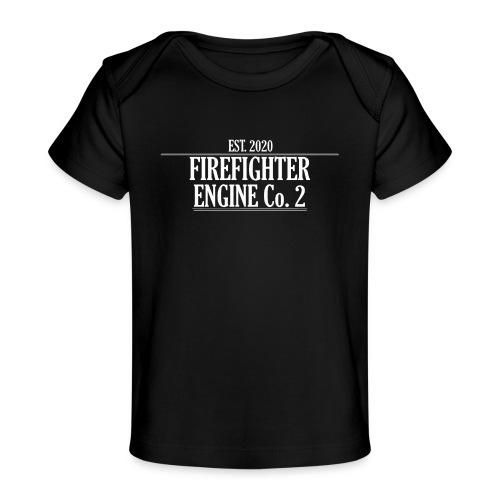 Firefighter ENGINE Co 2 - Økologisk T-shirt til baby