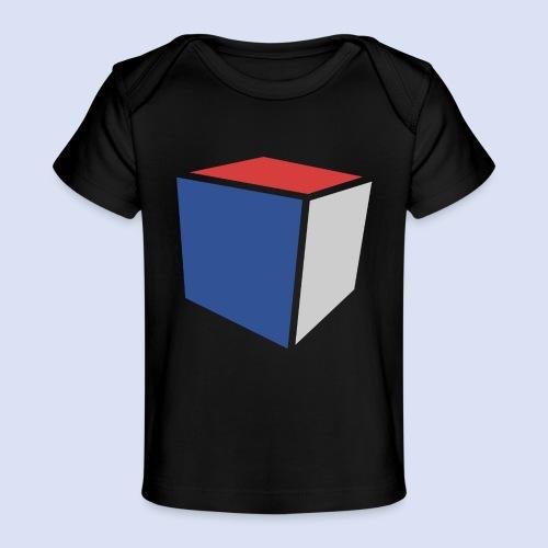 Cube Minimaliste - T-shirt bio Bébé