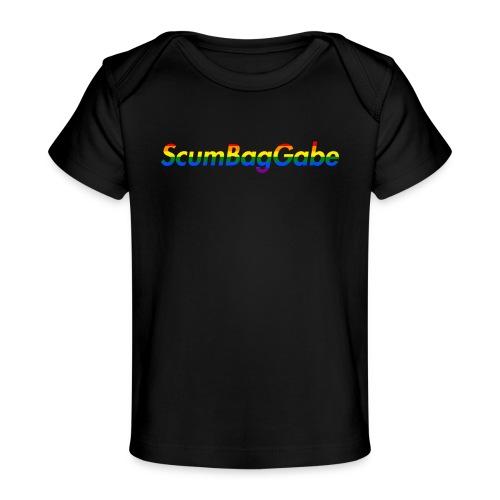 ScumBagGabe Multi Logo XL - Organic Baby T-Shirt