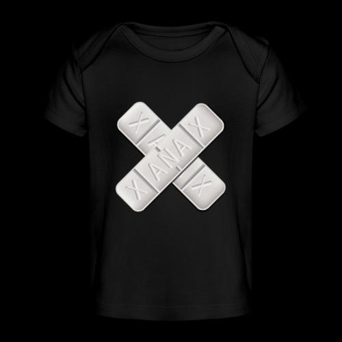 Xanax X Logo - Baby Bio-T-Shirt