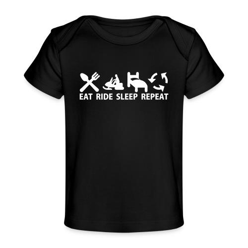 Snöskoter (Sled) - Ekologisk T-shirt baby