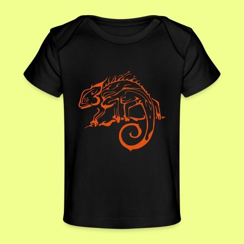 iguana - Camiseta orgánica para bebé