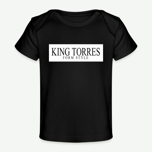 king torres - Camiseta orgánica para bebé