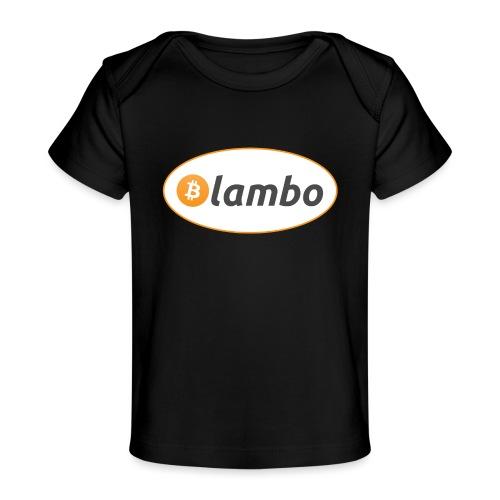 Lambo - option 1 - Organic Baby T-Shirt