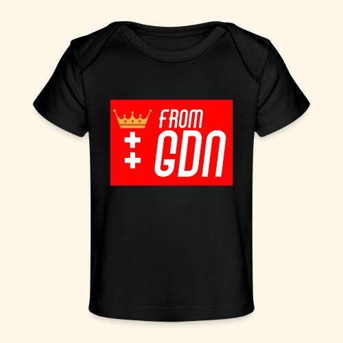 #fromGDN - Ekologiczna koszulka dla niemowląt