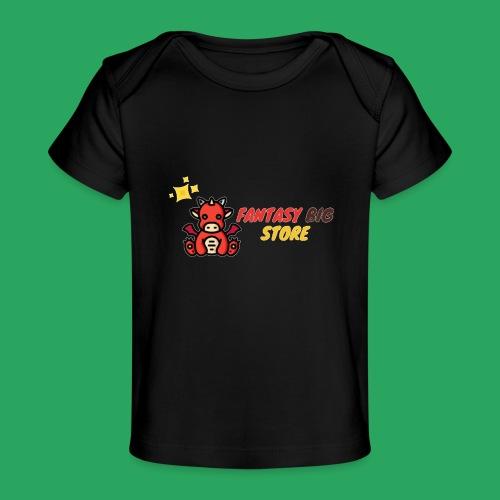 Fantasy big store - Maglietta ecologica per neonato