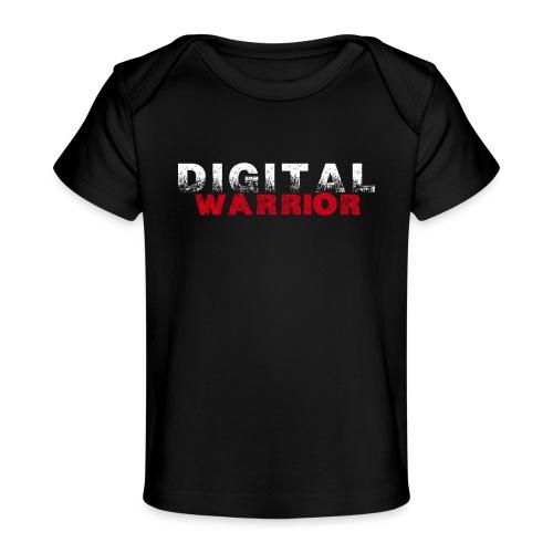DIGITAl WARRIOR II - Ekologiczna koszulka dla niemowląt
