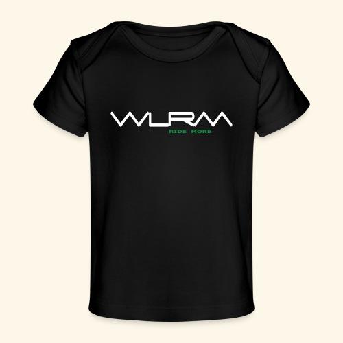 WLRM Schriftzug white png - Baby Bio-T-Shirt